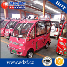 Large discount price!!! electric car with generator rubber tires solar panel