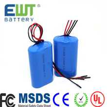 li ion battery 18650 7.4v 2000mah rechargeable li ion battery 18650 3.7v 2200mah/