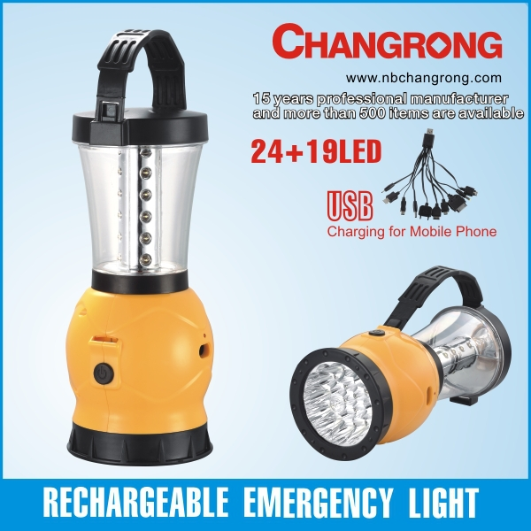 rechargeable led lantern emergency portable lamp backup battery