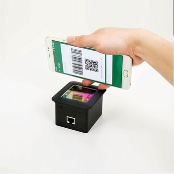 Mobile Payment QR Code Barcode Scanner OEM Scan Engine for LCD Screen