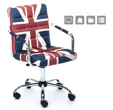 Nice-looking PU leather rotate dining chair with adjustable legs and casters