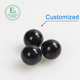 food grade customized solid silicone rubber ball