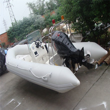 nice quality inflatable rubber motor boat for game inflatable boat for sale