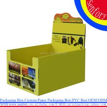 Wholesale Clothes Cardboard Box Yellow Fold Packaging Boxes For Clothes