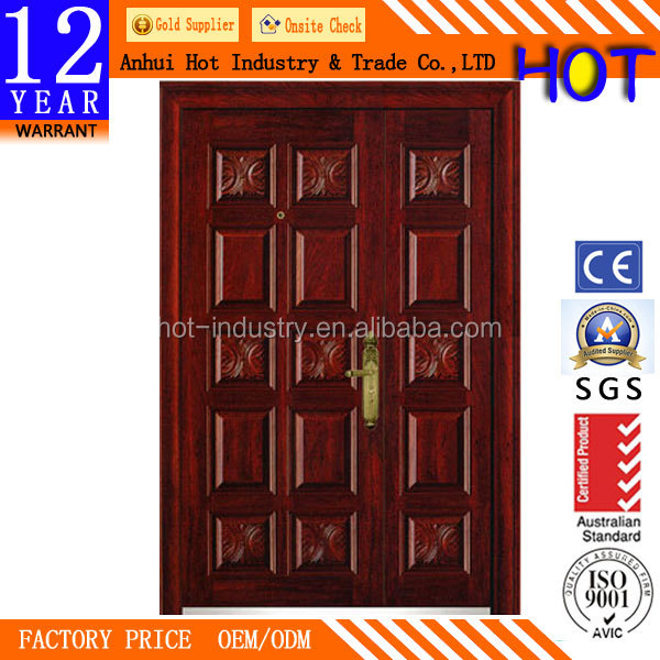 2016 China Cheap Interior Panel Wooden Door Melamine Door Mother and Son Door