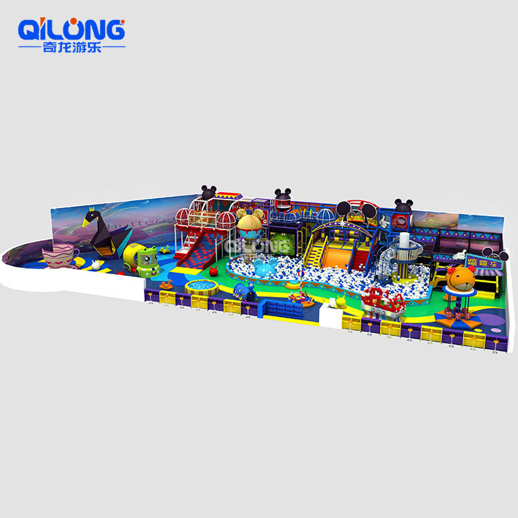 Wholesale Cheap Professional Children's Style Soft Indoor Playground
