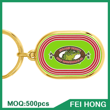 Key Chain Manufacturer Promotion Metal Key Ring Gift for Sports Apparel Wholesale