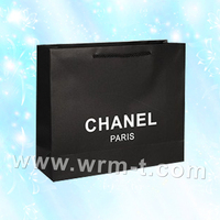 Customized logo recycled strong brown kraft paper shopping bags