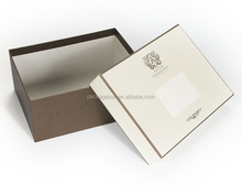 Rectangular cardboard paper rigid gift box with lid/custom made wholesale candle boxes