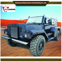 EN 1063 B6 armored vehicle anti-terrorism operation / 4x4 military vehicles
