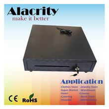 3-position lock metal cash drawer