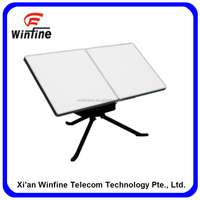 High precison Flat Portable Satellite Communication Antenna