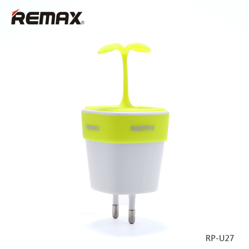 Remax CC FCC CE Dual USB Wall Charger for UL EU Plug