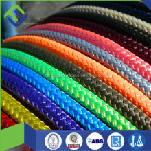 Shose used 5mm 16 strands braided polyester rope for hand bag