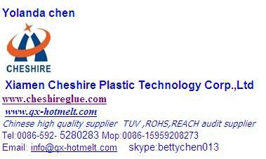cheshire high quality adhesive for lady napkin,lady napkin material