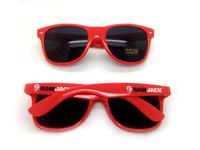 2016 best selling cheap wholesale fashionable crazy party eyewear unisex uv400 oem custom promotion pinhole sunglasses 1526