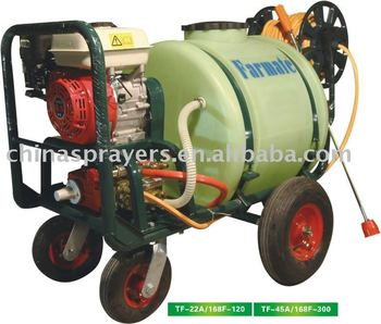 Trolley gasoline engine power sprayer TF-22A/168F-120