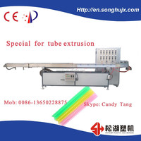 High-capacity plastic pp pe drinking straw production line