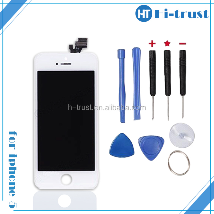 HOT SALE! DHL Free Shipping Original New / OEM lcd display touch screen digitizer for iphone 5g