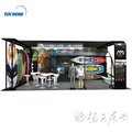 Detian Offer 10x20 outdoor trade show equipment exhibition booth portable