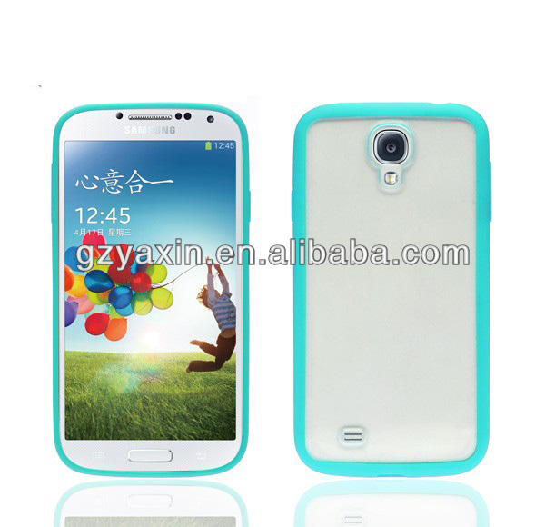 Factory Price tpu case for samsung galaxy s4,for samsung galaxy s4 tpu+pc case