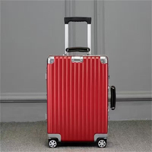 BEIBYE OEM PC trolley suitcase,aluminum trolley travel case,travel bag case