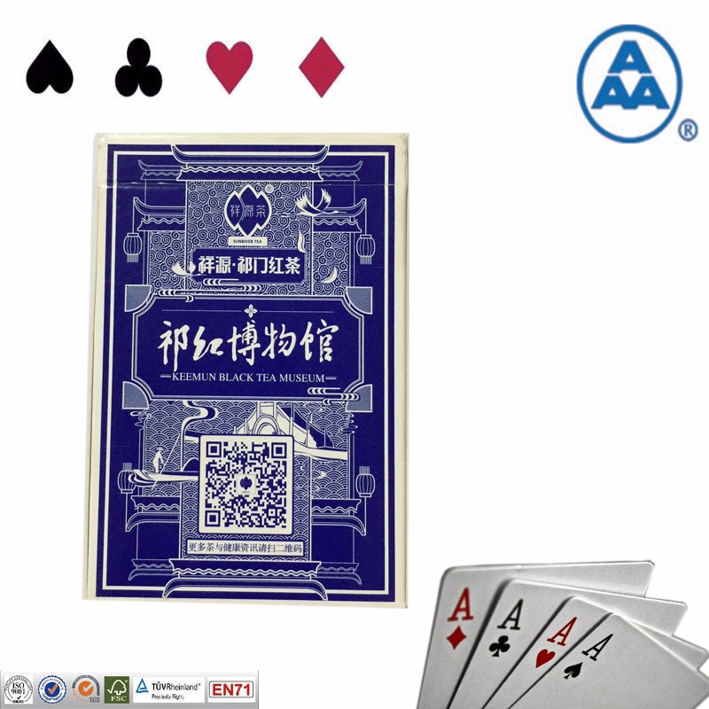 Printing Logo paper blank playing cards