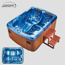 Hydro Sex Massage Hot Tubs combo Massage mini spa for 1 person hot tub