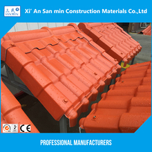 Waterproof corrosion resistance performance ASA synthetic resin roof tile