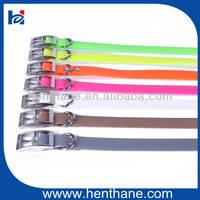 Plastic Webbing Dog Collar Engraved Dog anti bark dog collar