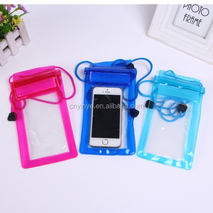 PVC Waterproof Dry Cell Phone Bag