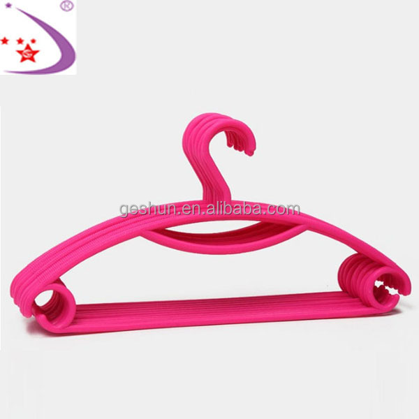 hotselling hanger for drying clothes plastic hanger for jeans