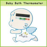 OEM Babi Care PP Babi Bath Thermometer With Baby Picture