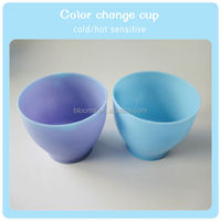 Funny cold temperature color change cup