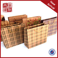 Wholesale Mini Small Brown Gift Paper Bag With Handles