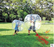 1.2 m PVC inflatable body bubble ball inflatable soccer ball