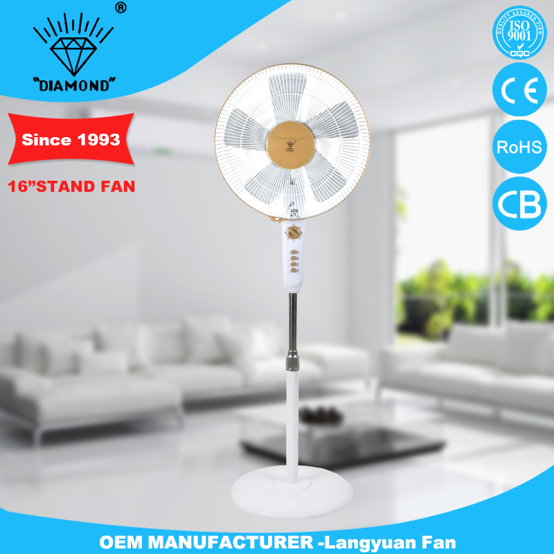 Alibaba China cheep 16 inch electric stand fan with low noise