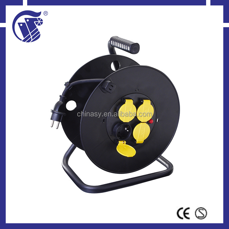 professional home use economic retractable mini type cable reel