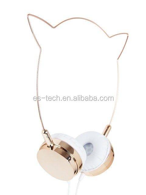 Shenzhen Consumer Electronics MP3 Headphone Cat