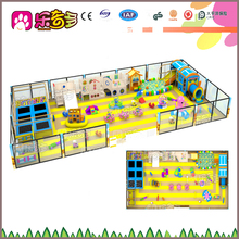 Kids indoor play areas Soft ,plastic play house for role play