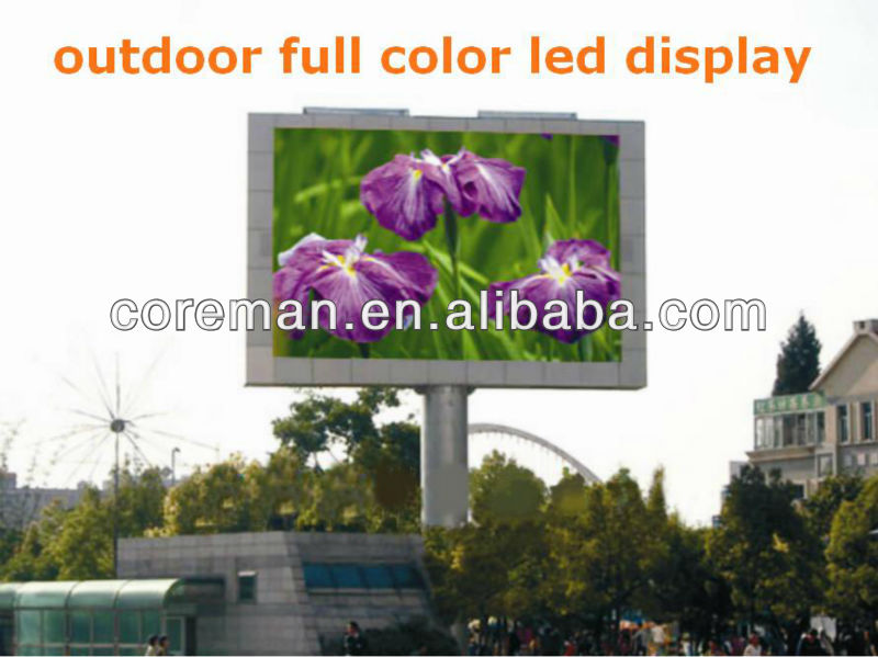 rgb video led display dip outdoor led display in south africa p10 p16