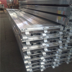 USA Standard Aluminum Scaffolding Plank With Hook For Construction Scaffolding System