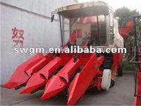 4YZ-3 Self-propelled Four wheel Corn Wheat Combine Harvester