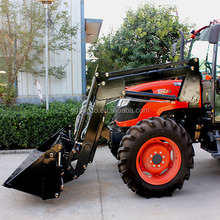 Farm machine tractor front loader with CE Certifcate,4 in 1 bucket FEL for 20 hp to 220 hp tractor