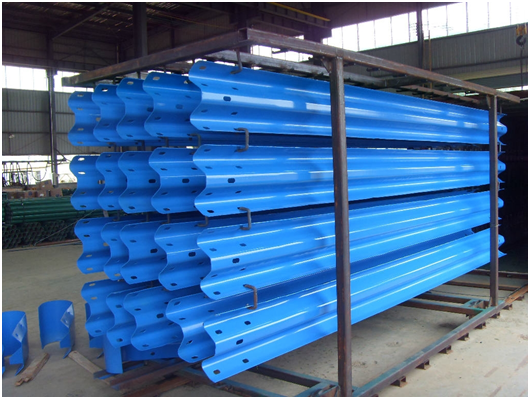 Top Accessed Guardrail Supplier / new inventions in China pvc coated barriers / steel galvanized safety expressway barrier