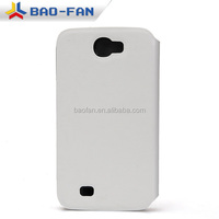 sublimation blank cell Case Leather Phone Case Full Size Printing For Samsung Note2 sublimation flip case