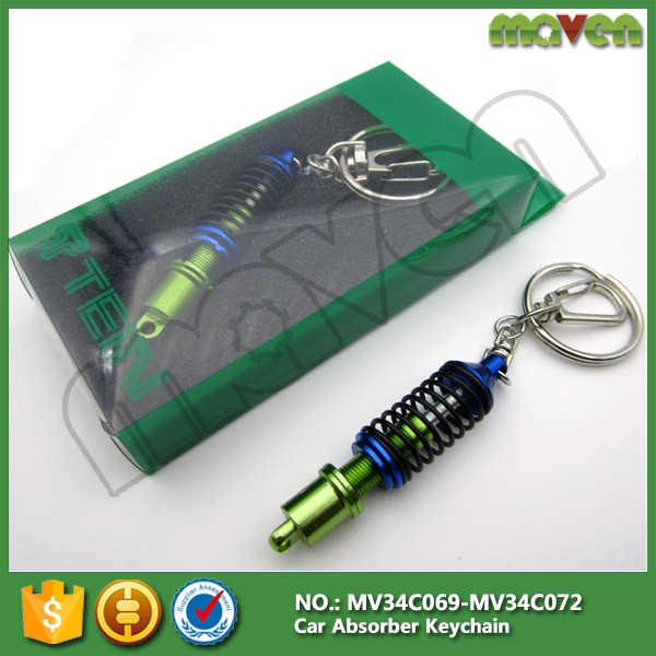 4 colors JDM Car TEIN Suspension Coilover Damper Keychain Keyring Interior Accessories Pendant Keyholder