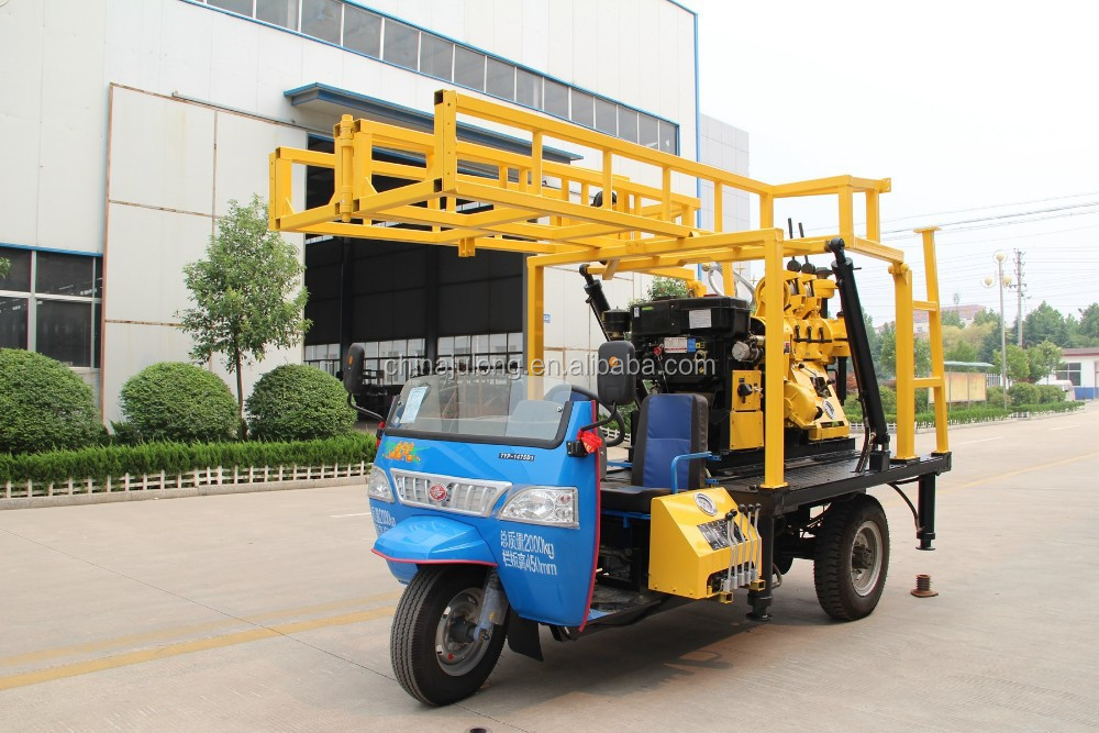 XYX-2 tractor Mounted Water Well Drilling Rig