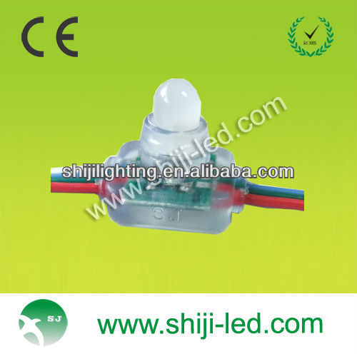 dmx led pixel string ws2801 diameter 12mm square DC5V
