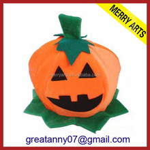 China cheap product fancy halloween decorations pumpkin hat